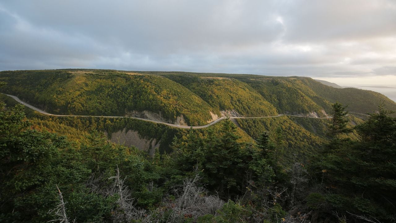 The Cabot Trail in Nova Scotia