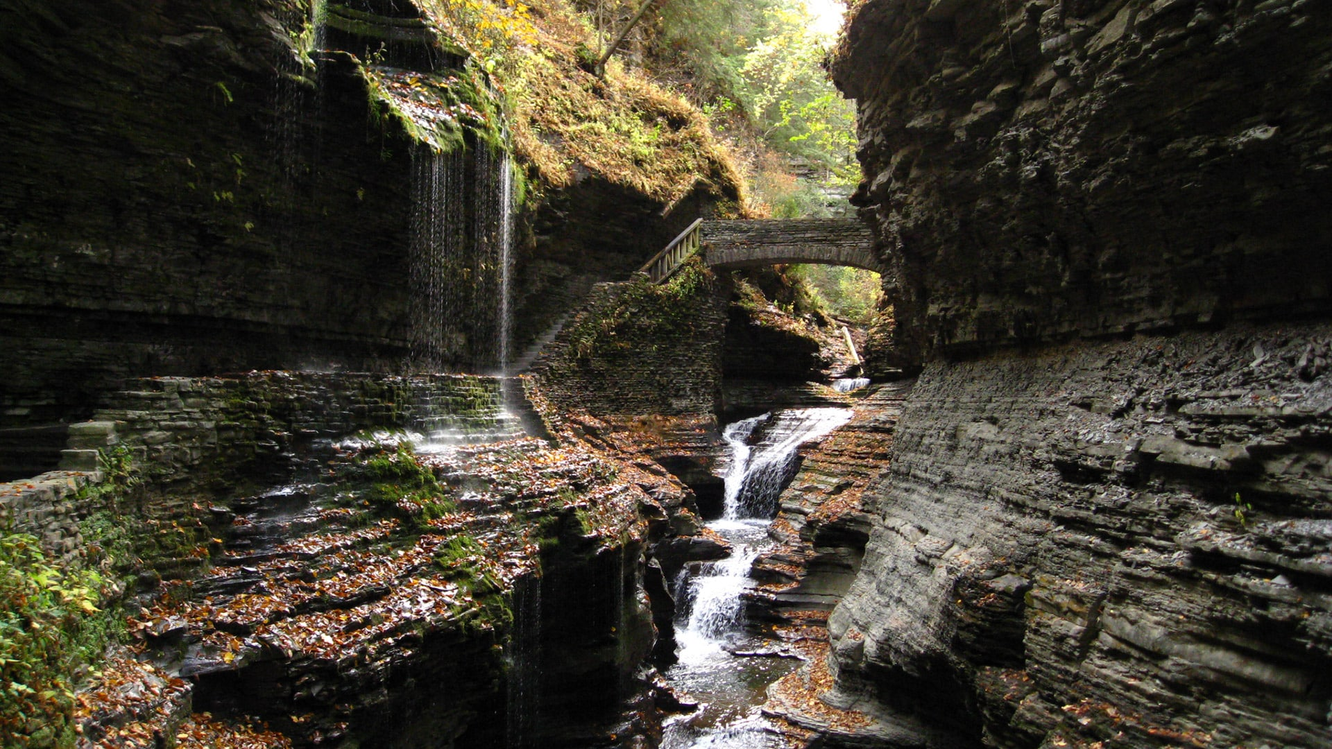 watkins glen state park in new york enterprise open road