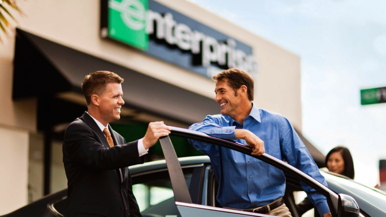 Enterprise Rent A Car I  Service Road