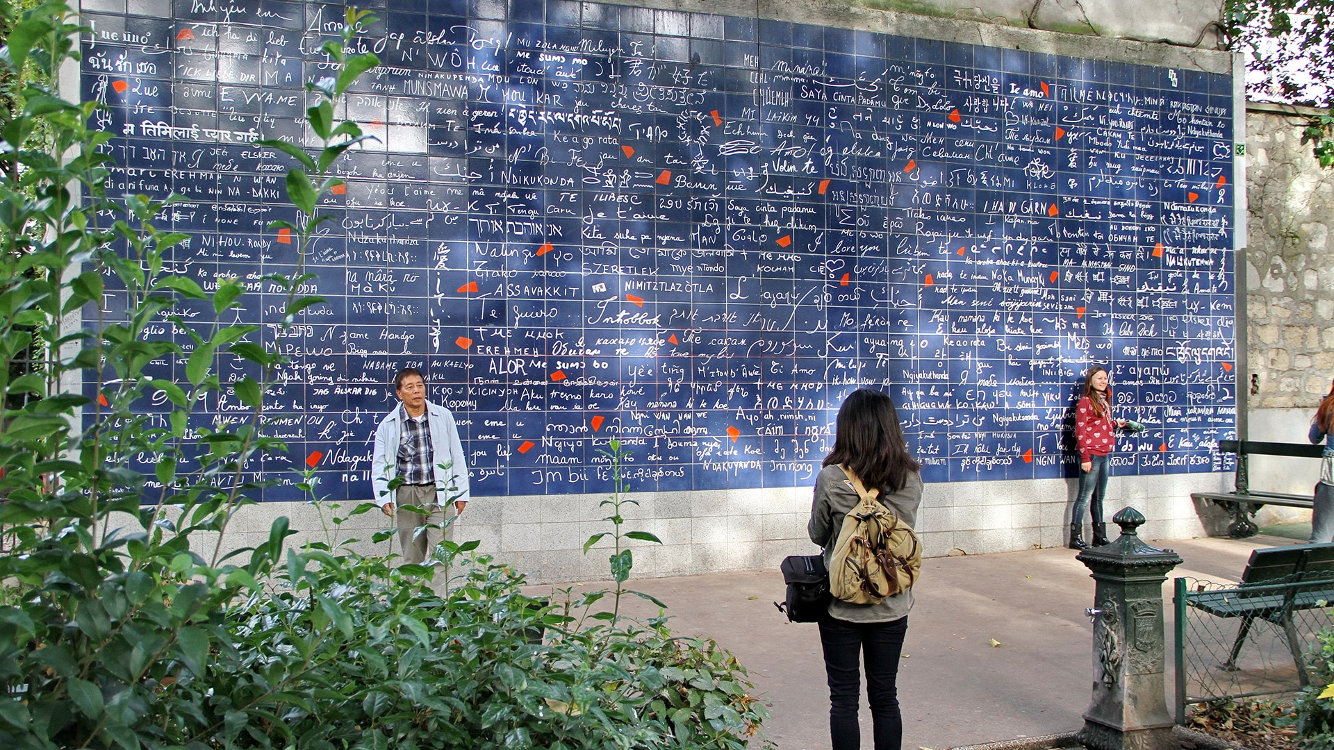The Wall of Love, Paris, France