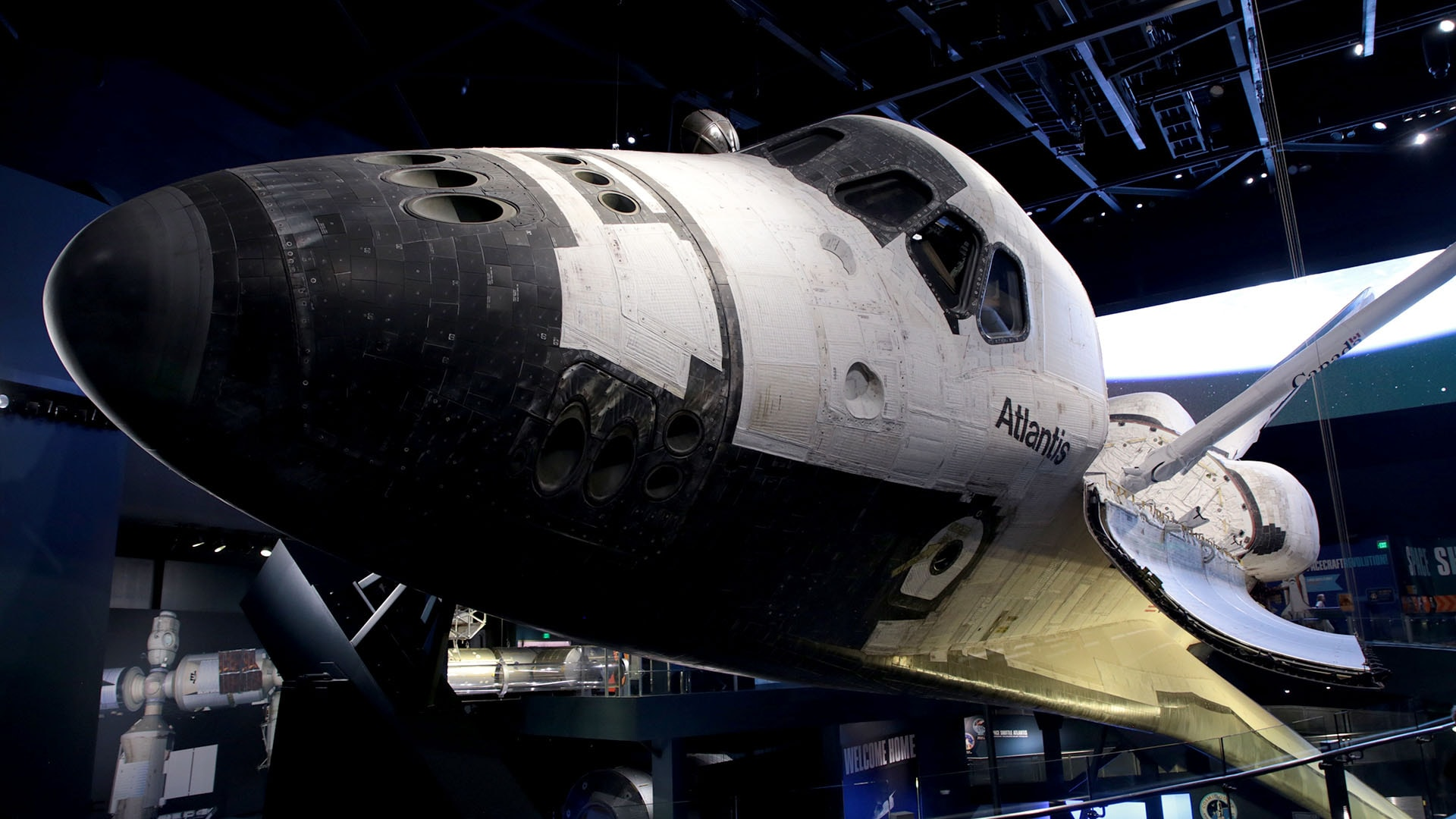 Atlantis was the last shuttle to go into space, launching on July 8, 2011.
