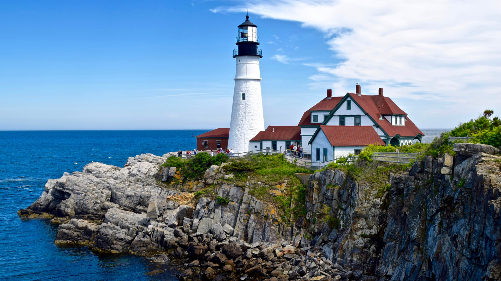 Visit to Portland, Maine Brings Back Memories—and Creates New Ones
