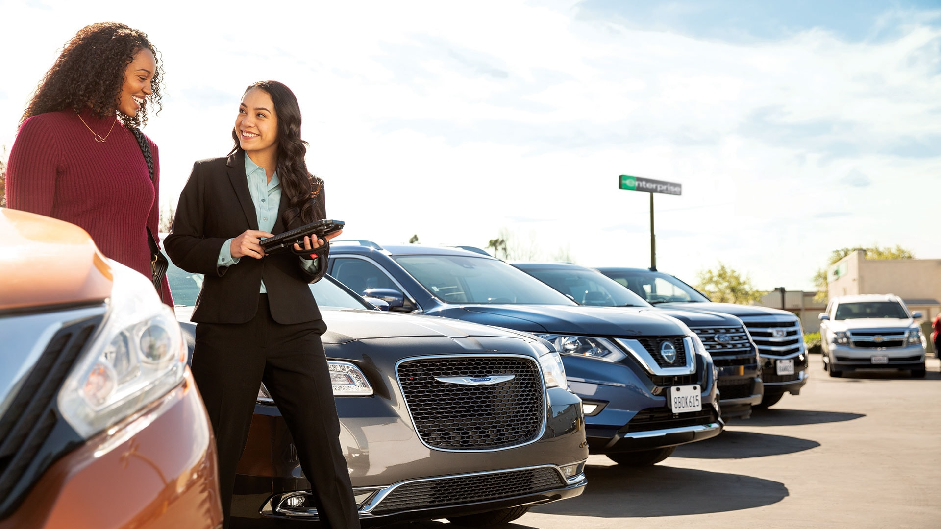Enterprise rent a car vaughan